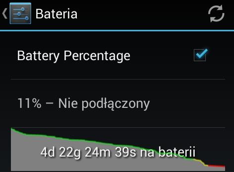 Bateria w GoClever Quantum 4