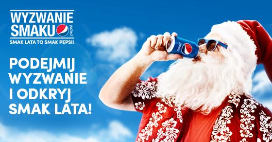 Reklama Pepsi Mikołaj