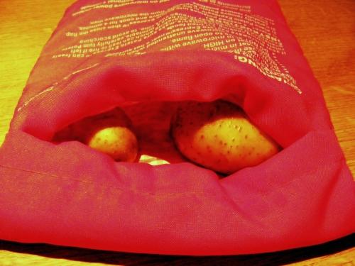 Potato Express do gotowania ziemniaków w mikrofali