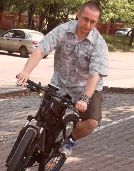 Test roweru elektrycznego