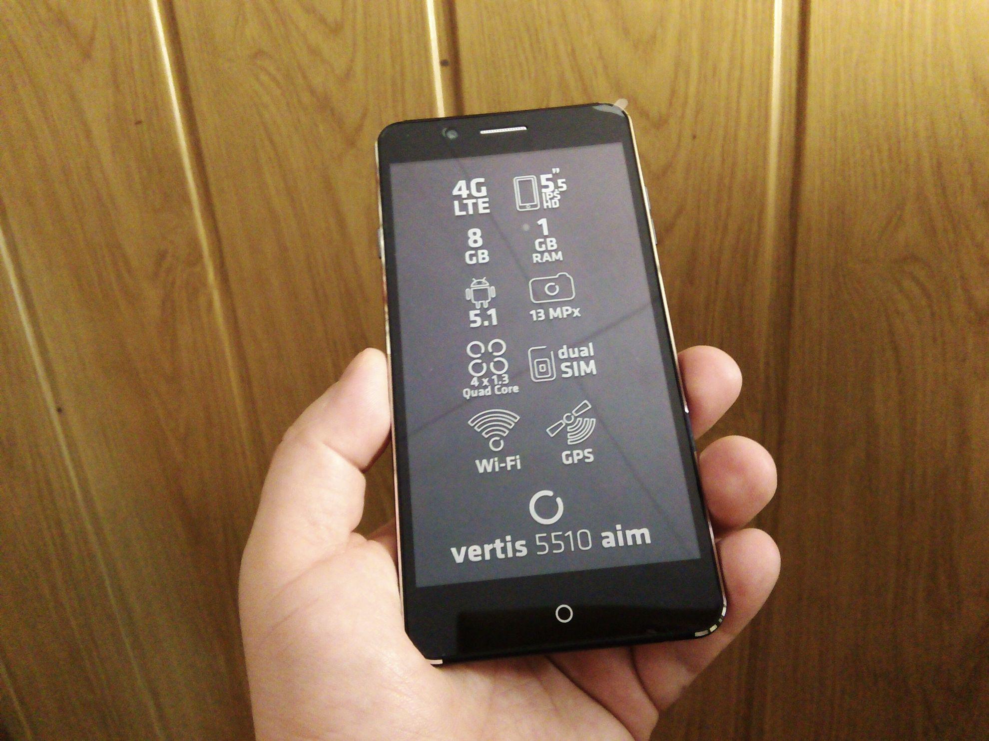 Smartfon Overmax Vertis 5510 AIM - opinie, testy, recenzja