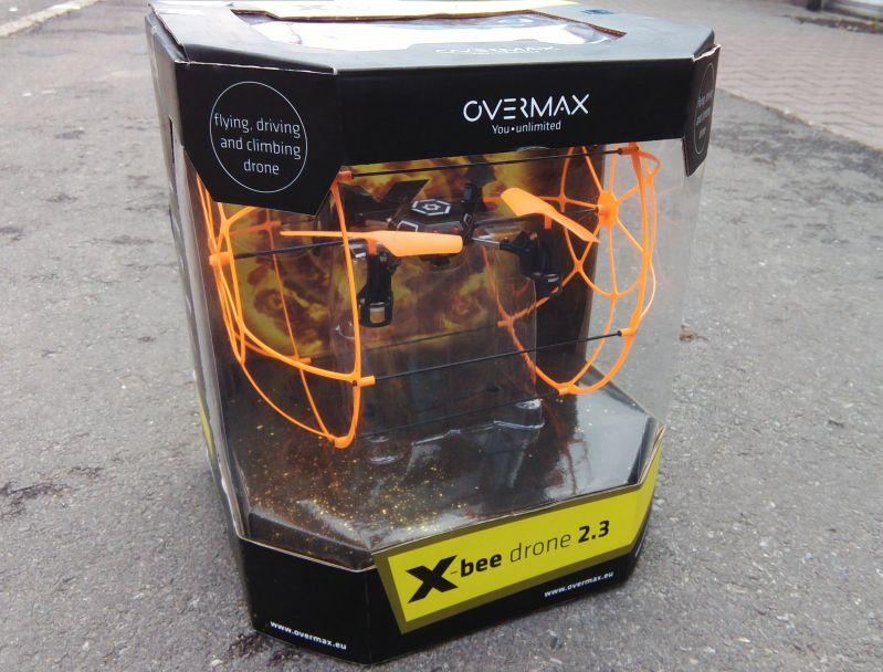 Jeżdżący dron Overmax
