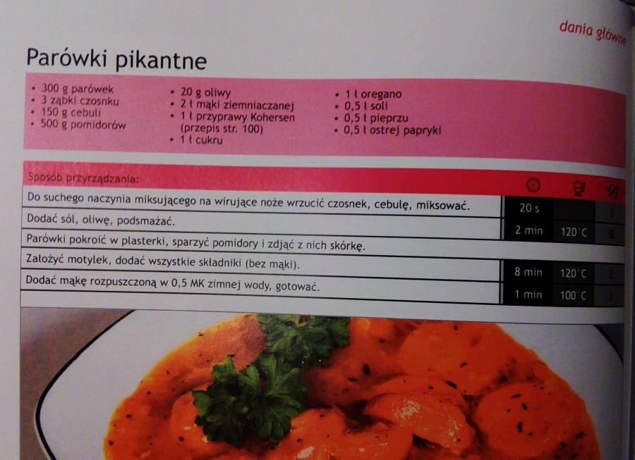 Przepisy z książki kucharskiej Kohersen