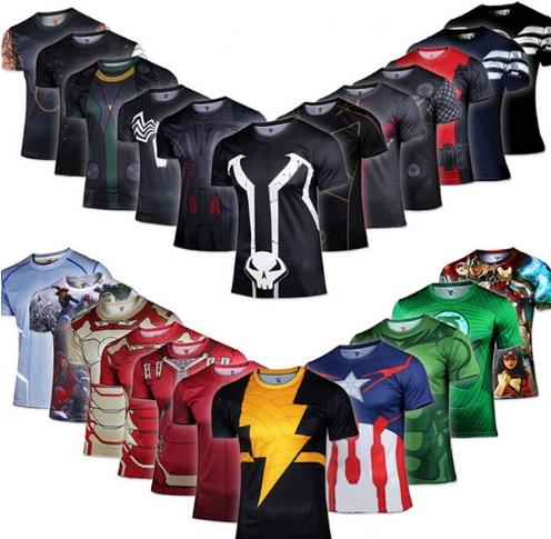 Koszulki z superbohaterem z Aliexpress