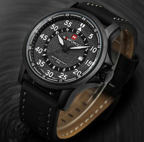 Męski zegarek na rękę z Aliexpress
