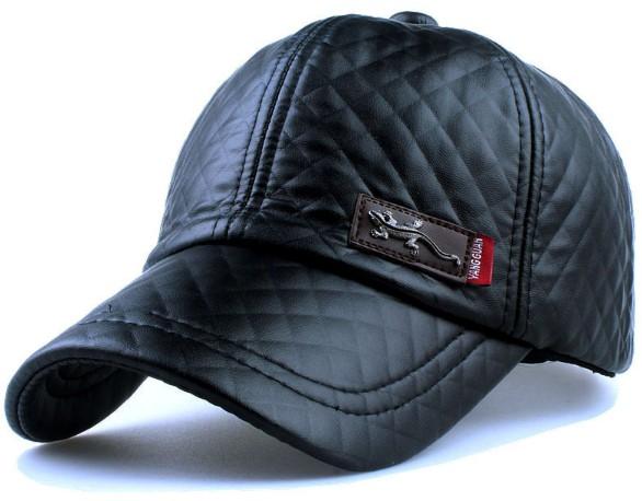 Skórzana czapka z Aliexpress