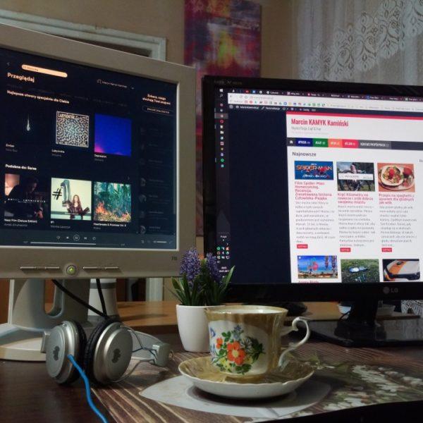 Praca na dwóch monitorach