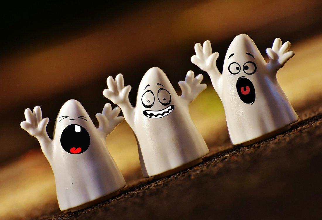 Halloween śmieszne duchy