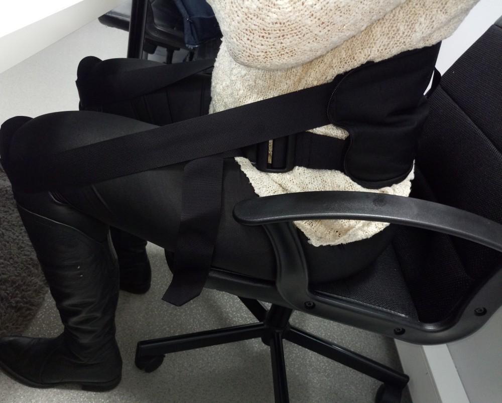 Korekta kręgosłupa w pracy siedzącej