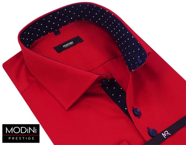 Czerwona koszula męska Modini