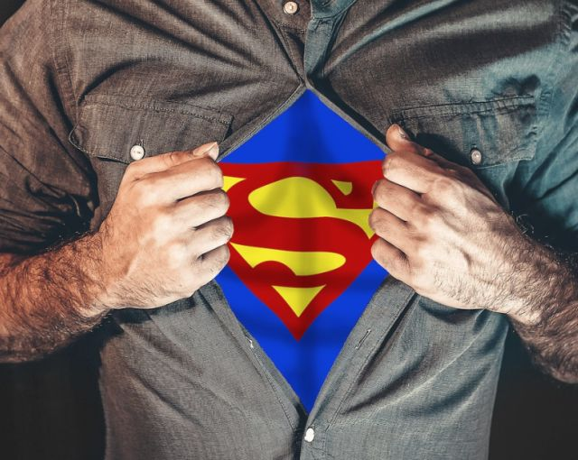 Męska koszula Superman