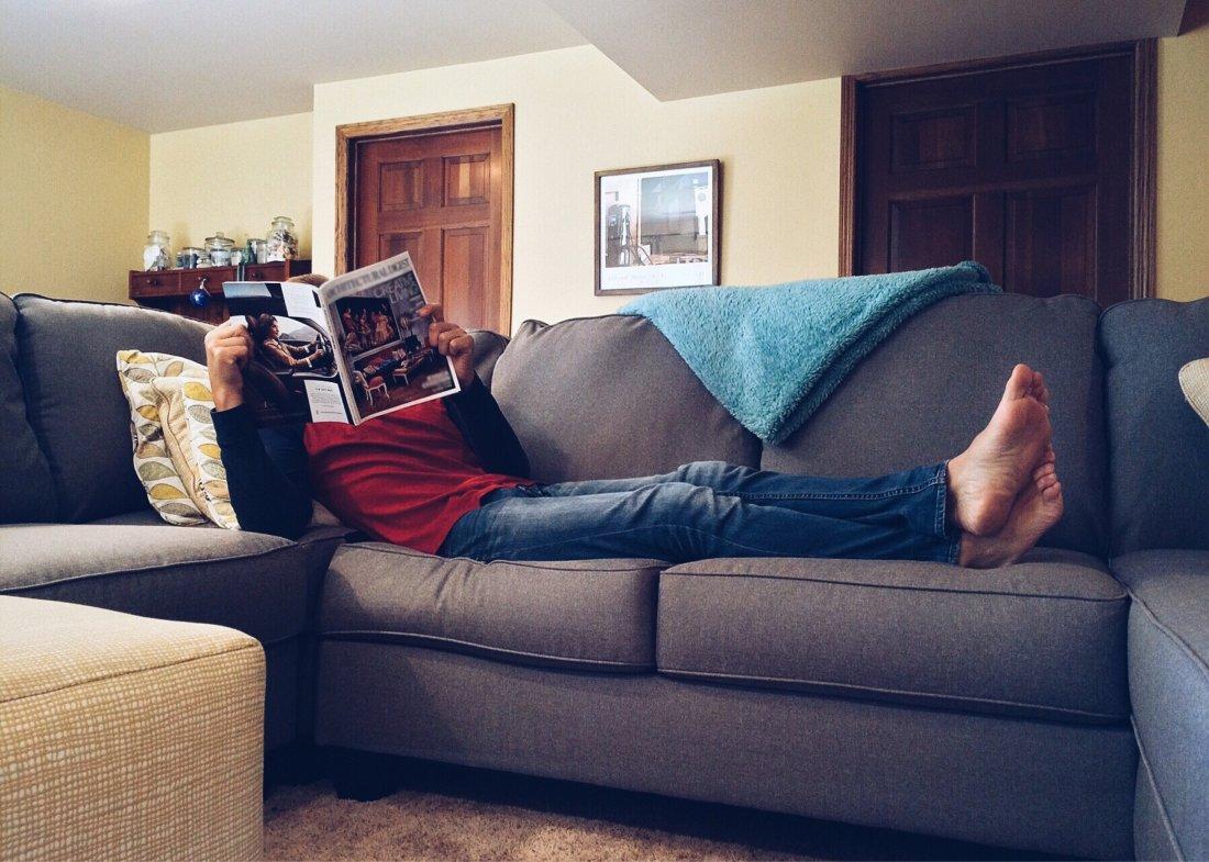 Odpoczynek w mieszkaniu