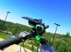 Multimedialny uchwyt rowerowy