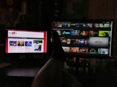 Oglądanie filmów na Netflix