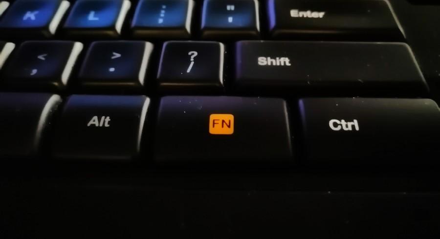 Przycisk FN na klawiaturze