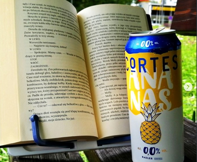 Piwo Cortes Radler ananas bezalkoholowy