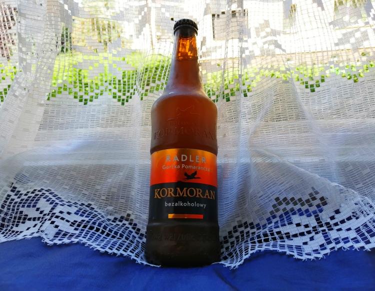 Kormoran Gorzka Pomarańcza radler bezalkoholowy