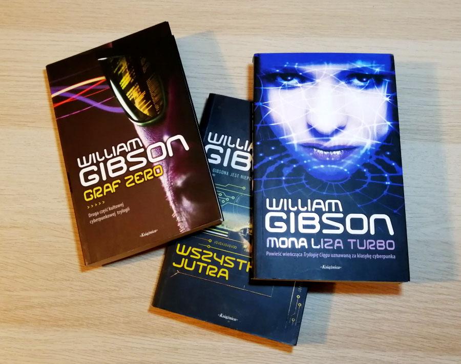 Książki William Gibson fantastyka cyberpunk