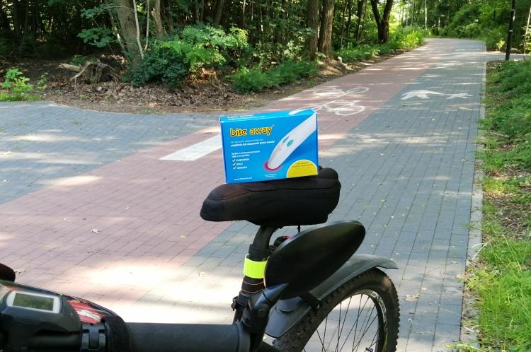 Na rower przeciw komarom