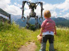 Robot, dziecko - fantastyka