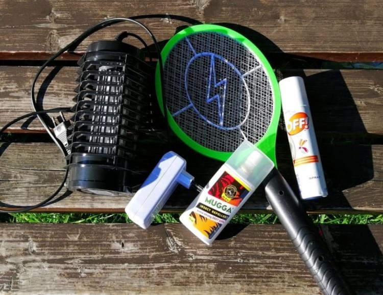 Sprzęt przeciw komarom
