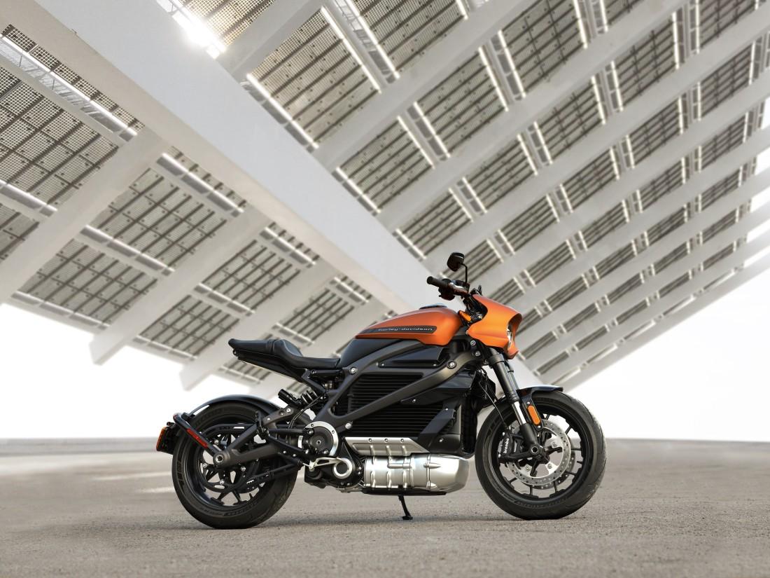 Motocykl elektryczny Harley Davidson