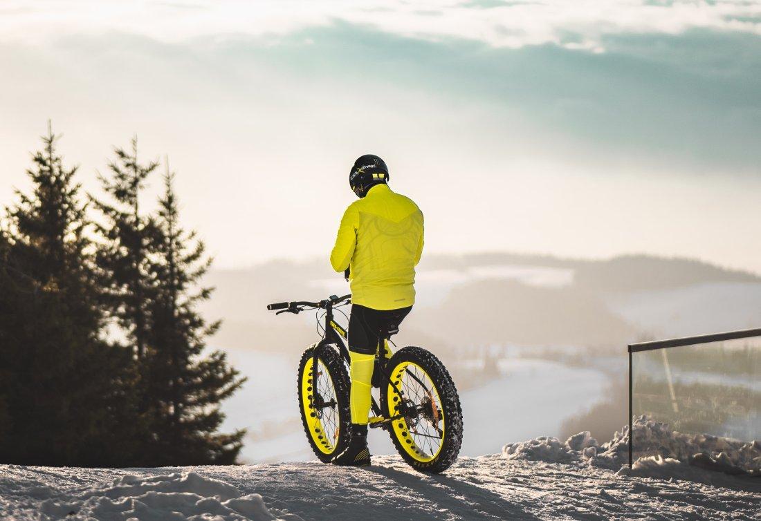 Fatbike rower na zimę