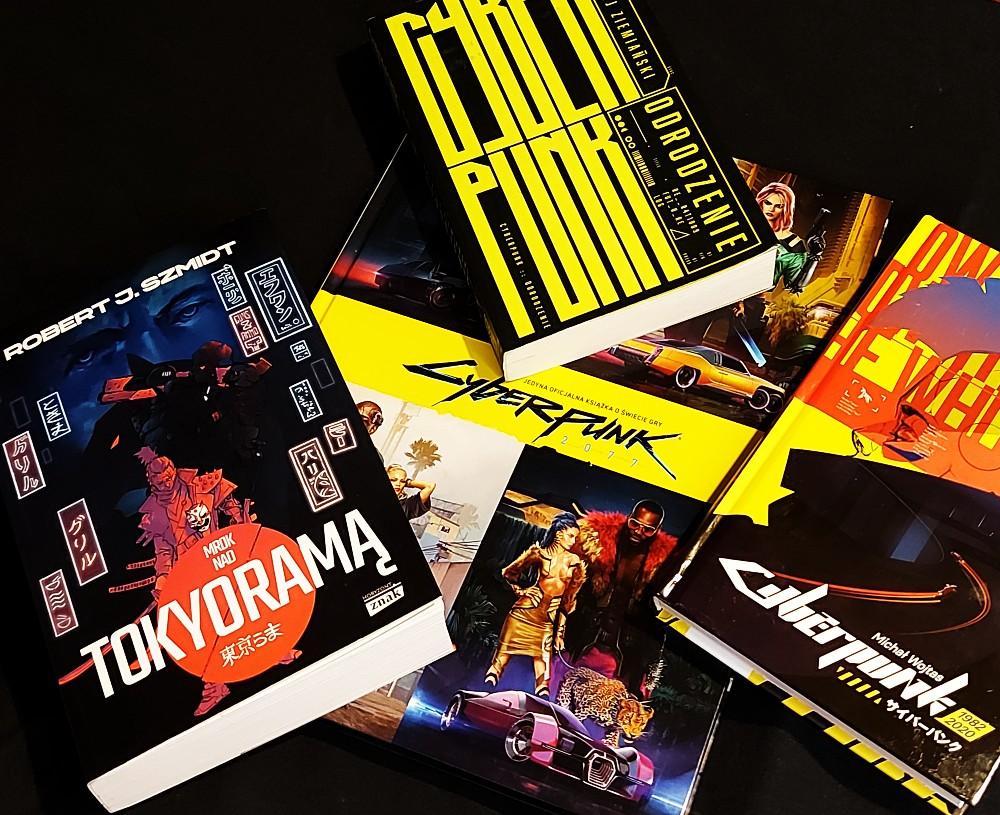 Polskie książki Cyberpunk