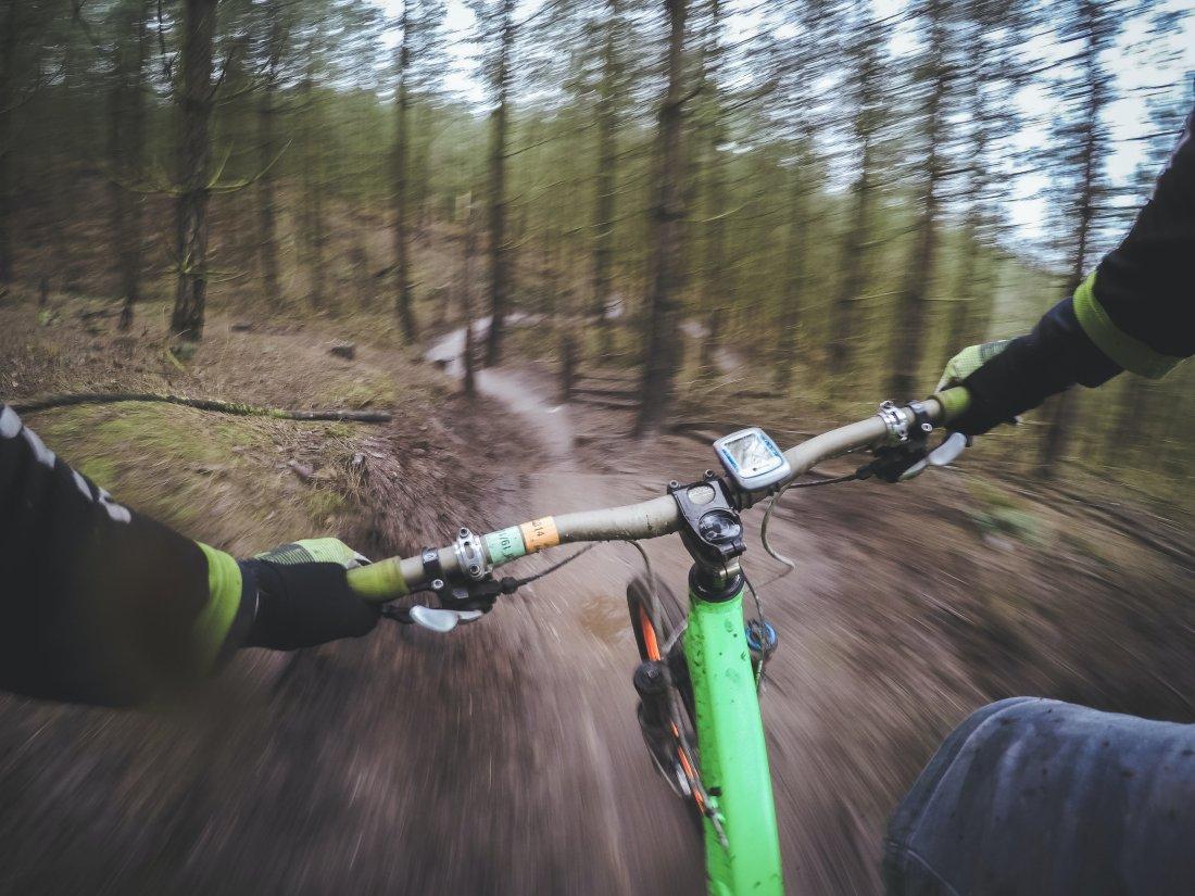 Jazda na rowerze - downhill