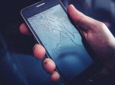 Pęknięte szkło Samsung